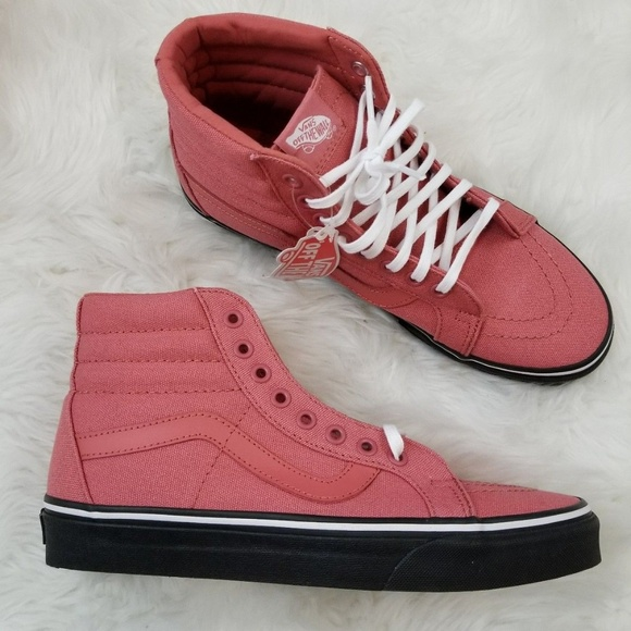 31a799bbbe VANS Sk8-Hi Reissue Faded Rose Canvas 9   9.5